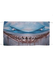 Shark Lovers 3 Cloth face mask front