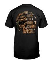 I RIDE T-SHIRT Classic T-Shirt back