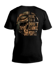 I RIDE T-SHIRT V-Neck T-Shirt tile