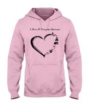 I AM A SIMPLE WOMAN Hooded Sweatshirt front