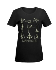 NAMASTE T-SHIRT Ladies T-Shirt women-premium-crewneck-shirt-front