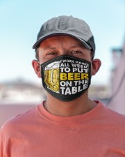 TO PUT BEER ON THE TABLE Cloth Face Mask - 3 Pack aos-face-mask-lifestyle-06