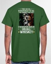 Bring whiskey Classic T-Shirt garment-tshirt-unisex-back-04