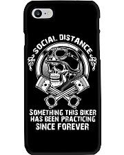 PRACTICING SOCIAL DISTANCING Phone Case thumbnail