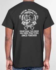 PRACTICING SOCIAL DISTANCING Classic T-Shirt garment-tshirt-unisex-back-04