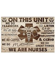 WE ARE NURSE POSTER 17x11 Poster front