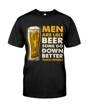 MEN ARE LIKE BEER  Classic T-Shirt thumbnail