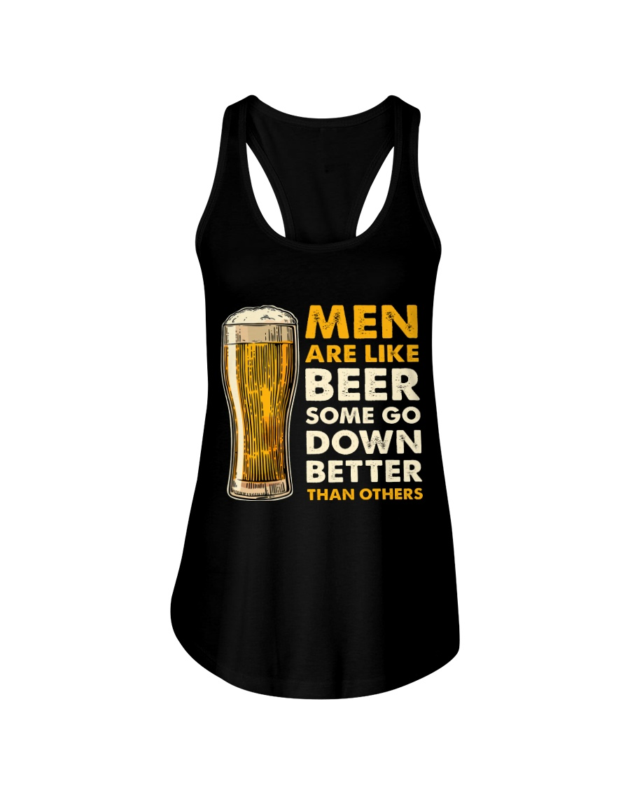 MEN ARE LIKE BEER  Ladies Flowy Tank