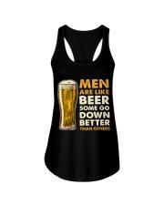MEN ARE LIKE BEER  Ladies Flowy Tank front