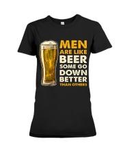 MEN ARE LIKE BEER  Premium Fit Ladies Tee thumbnail