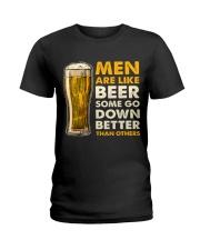 MEN ARE LIKE BEER  Ladies T-Shirt thumbnail