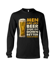 MEN ARE LIKE BEER  Long Sleeve Tee thumbnail