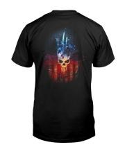 AME SKULLT-SHIRT  Classic T-Shirt back