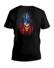 AME SKULLT-SHIRT  V-Neck T-Shirt thumbnail