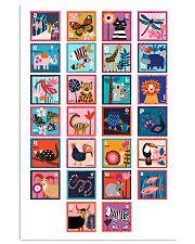 ALPHABET OF ANIMALS 11x17 Poster front