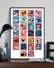 ALPHABET OF ANIMALS 11x17 Poster lifestyle-poster-2