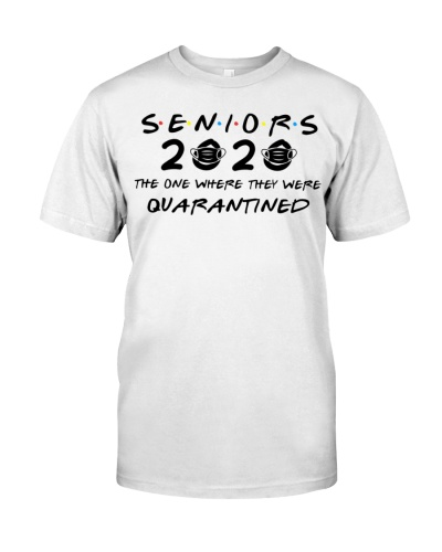 WHITE SENIORS 2020 T-SHIRT
