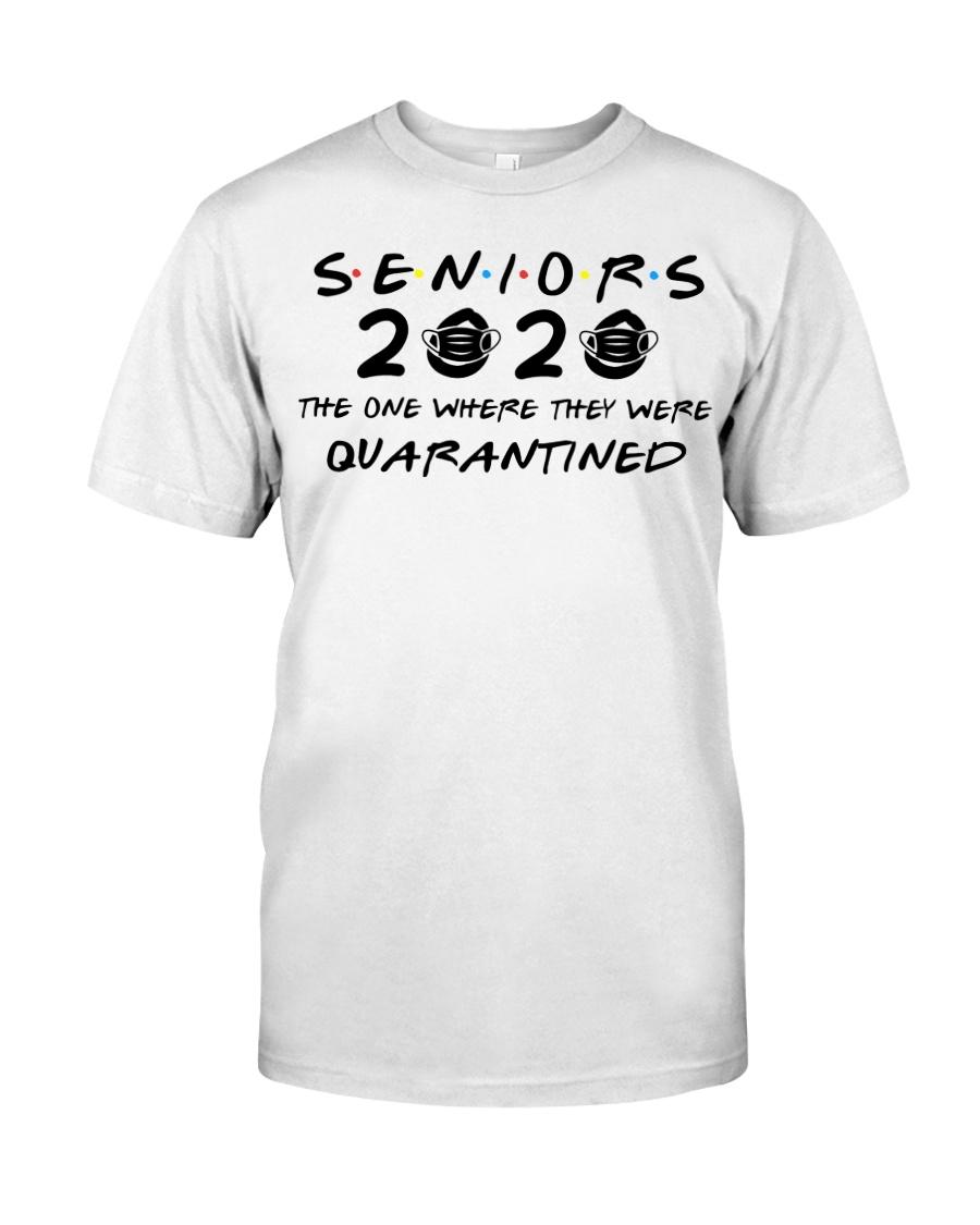 WHITE SENIORS 2020 T-SHIRT Classic T-Shirt