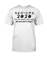 WHITE SENIORS 2020 T-SHIRT Classic T-Shirt front