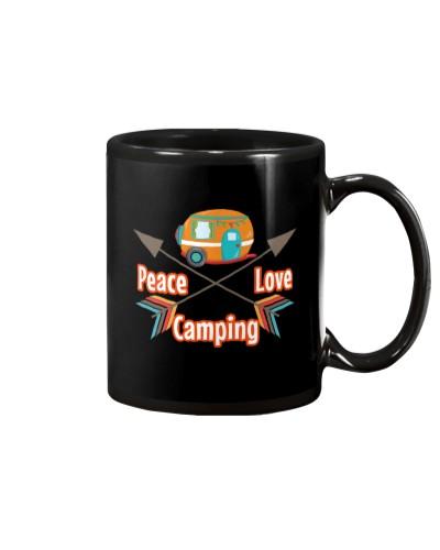 PEACE LOVE CAMPING