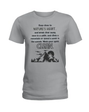 NATURES HEART T-SHIRT Ladies T-Shirt thumbnail