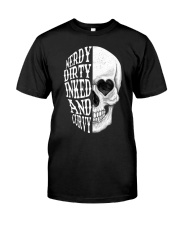 NERDY DIRTY INKED AND CURVY Classic T-Shirt thumbnail
