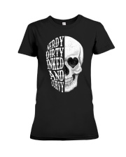 NERDY DIRTY INKED AND CURVY Premium Fit Ladies Tee thumbnail