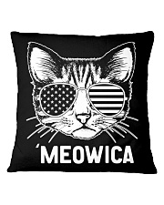 MEOWICA - INDEPENDENCE DAY Square Pillowcase thumbnail