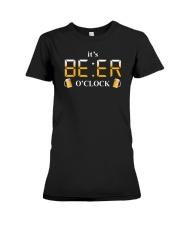 BEER O'CLOCK T-SHIRT Premium Fit Ladies Tee thumbnail