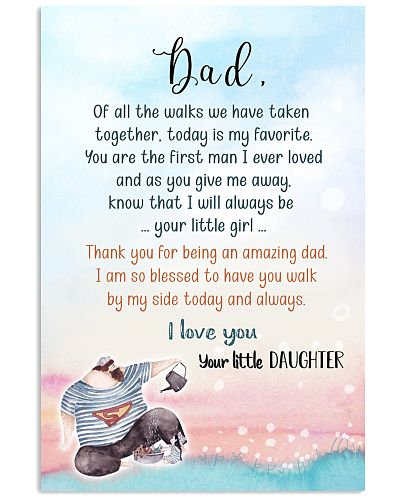 TO DAD FROM DAUGHTER - OF ALL THE WALKS