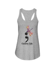 CHOOSE LIFE  Ladies Flowy Tank thumbnail