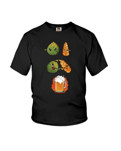 BALL AND BEER  T-SHIRT