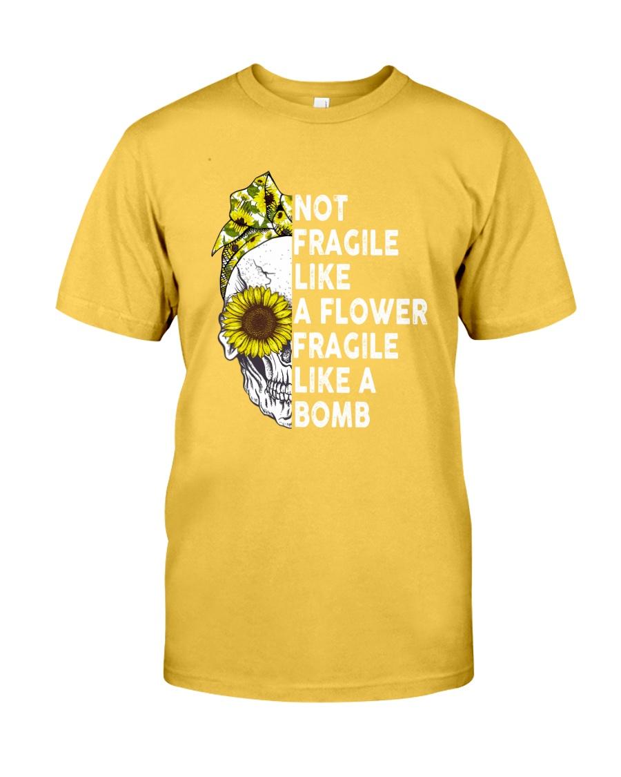 FRAGILE LIKE A BOMB Classic T-Shirt
