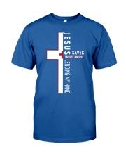 Jesus saves - Nurse Classic T-Shirt thumbnail