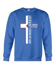 Jesus saves - Nurse Crewneck Sweatshirt thumbnail