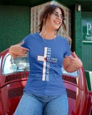 Jesus saves - Nurse Ladies T-Shirt apparel-ladies-t-shirt-lifestyle-01