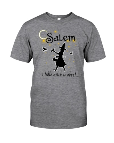 SALEM A LITTLE WITCH IS ABOUT