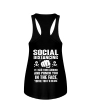 PUNCH YOU MALE Ladies Flowy Tank tile