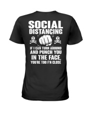 PUNCH YOU MALE Ladies T-Shirt tile