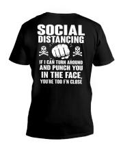 PUNCH YOU MALE V-Neck T-Shirt tile