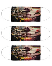 My Attitude Depends On You 4 Cloth Face Mask - 3 Pack front