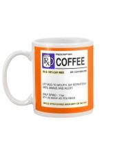 COFFEE PRESCRIPTION Mug back