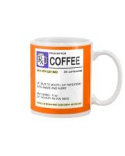 COFFEE PRESCRIPTION Mug front
