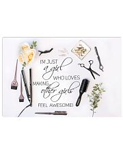 Feel awesome 17x11 Poster front