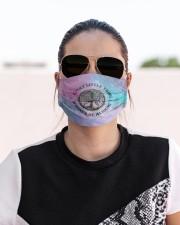 Hippie heart Gipsy soul 01 Cloth face mask aos-face-mask-lifestyle-02