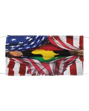 FLAGS AFR Cloth face mask front