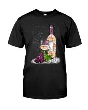 WINE - FLOWER Classic T-Shirt thumbnail