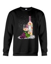 WINE - FLOWER Crewneck Sweatshirt thumbnail