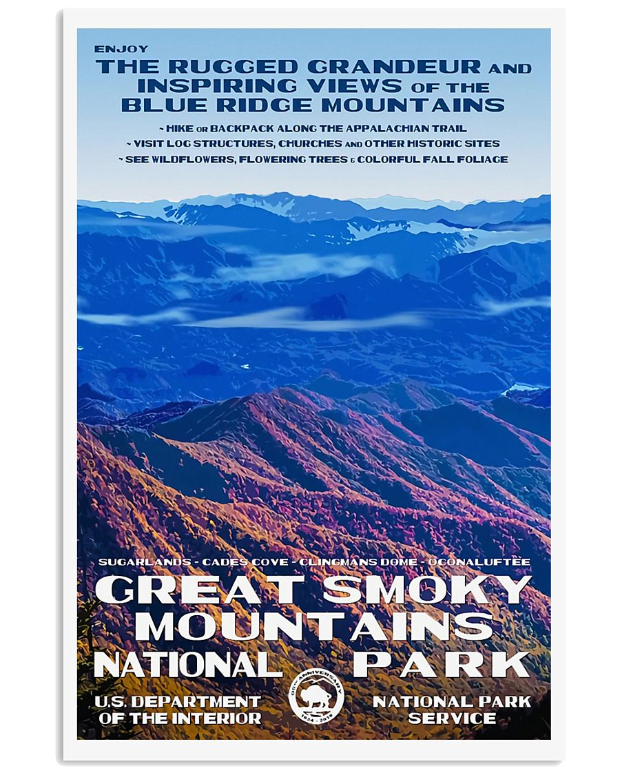GREAT SMOKY MOUNTAINS 11x17 Poster