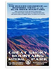 GREAT SMOKY MOUNTAINS 11x17 Poster front